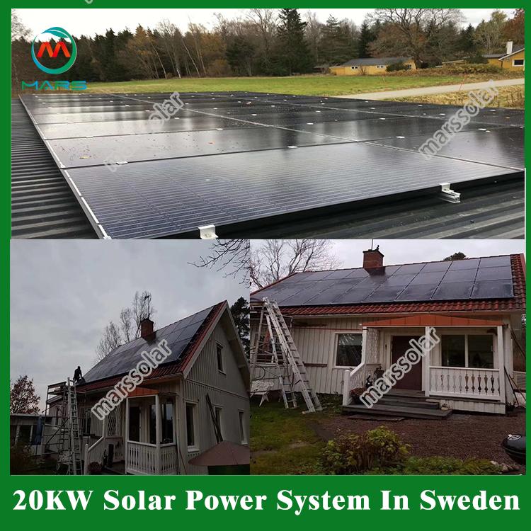 20kw off grid solar system