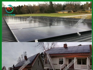 10KW solar panels for homes Sweden