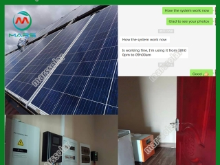 Eco worthy solar panel installation
