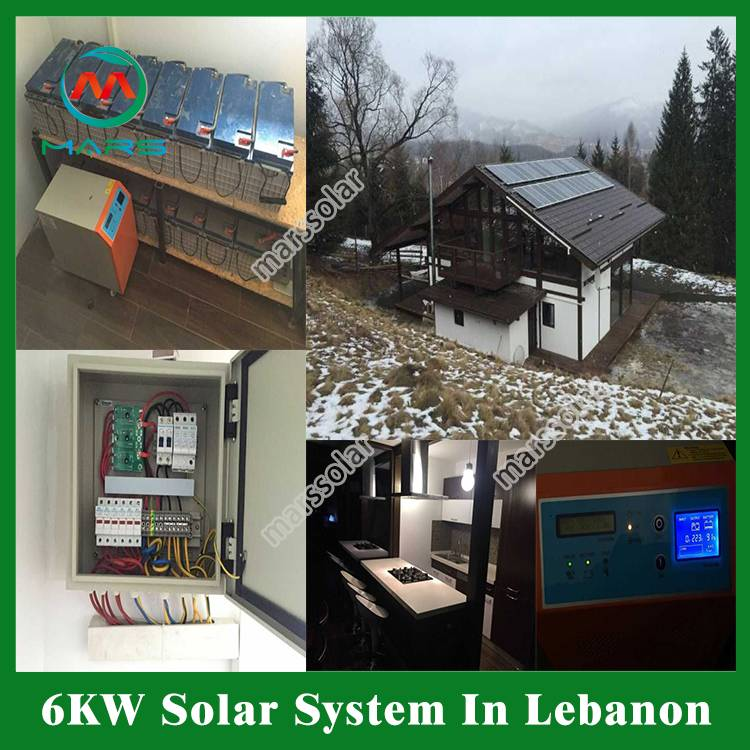 6KW Home Solar Systems In Lebanon