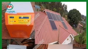 1500W Solar Power Backup System In Kenya