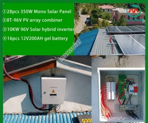 Solar Power System Manufacturers 10KW Solar System With Batteries