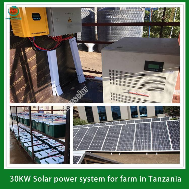 Off Grid Solar System Batteries