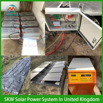 Solar System Factory 5KW Solar Panel System With Inverter Price South Africa