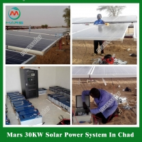Solar System Manufacturer 30KW Solar System Product For Factory