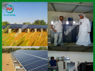 30KW Concentrated Solar Power System At Dubai  Royal Estates