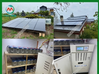 30KW Off-Grid Solar Panel Kits In Switzerland