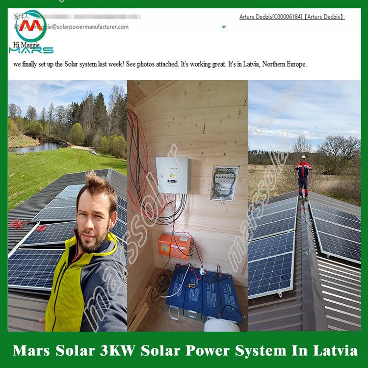 3kw off grid solar system