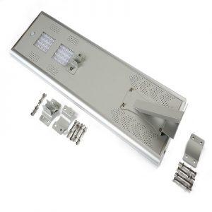 40W Solar Powered Pole Light