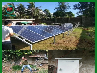 1.5KW Solar Water Pumps For Agriculture In Thailand