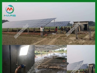 60HP / 45KW Solar Powered Irrigation System