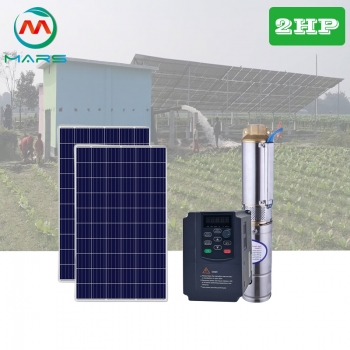 Solar System Manufacturer 2HP Solar System For Agricultural Water Pumps