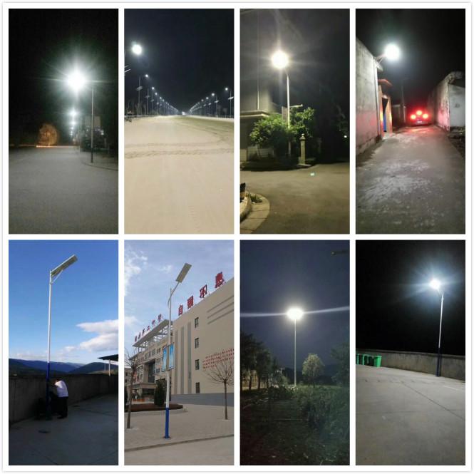 15W Tall Solar Lamp Post Manufacturer