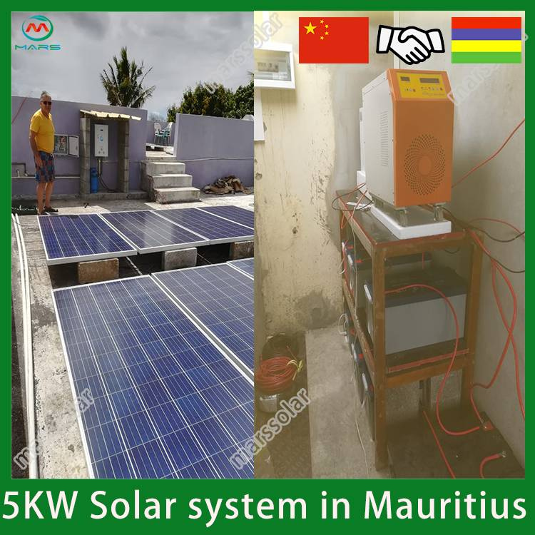 5KW Solar Power For Home In Mauritius