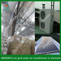 Solar System Manufacturer 18000BTU Solar Aircondition Units For Hotel Rooms