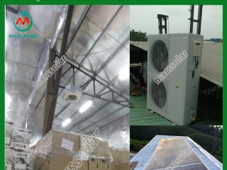 48000BTU On Grid Solar Power Air Conditioner In Vietnam