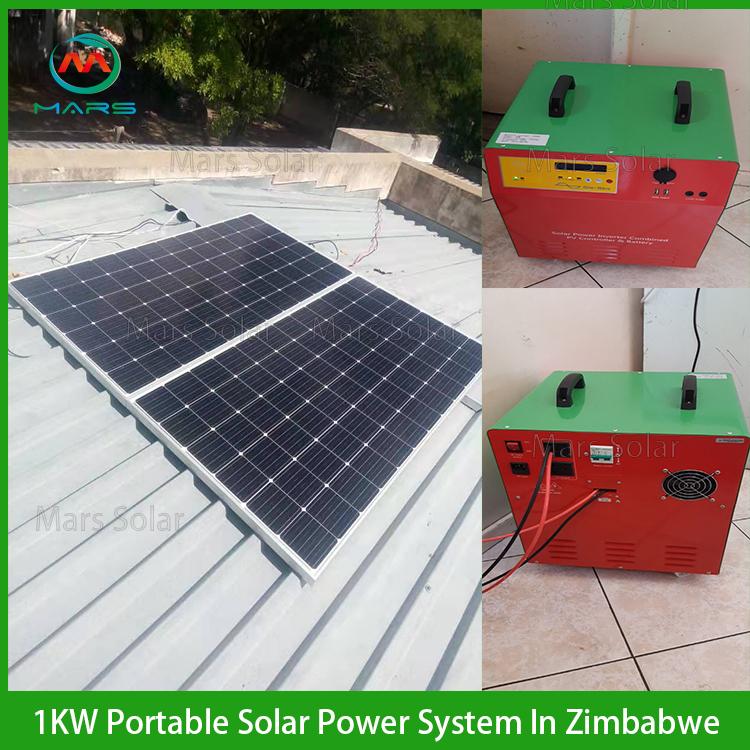 1KW Solar Generators In Zimbabwe