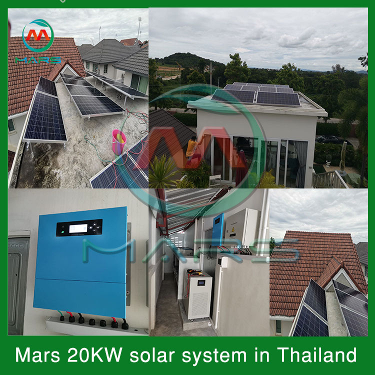 20KW Solar Power Kits For Home Use In Thailand