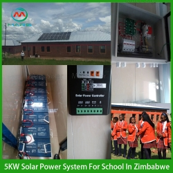 Solar System Factory 5KW Solar System With Battery Backup Price South Africa