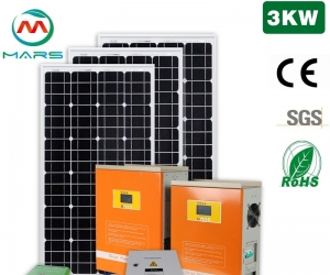Solar System Manufacturer 3KW Solar System For Domestic Use Zimbawe