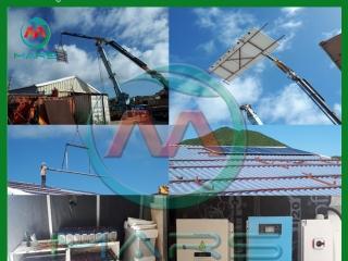 8KW 127V/220V Three Phase Solar Energy For Factory In Saint Martin