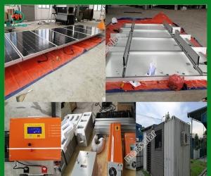 Solar System Manufacturer 5 Kilowatt Electricity Solar Panels
