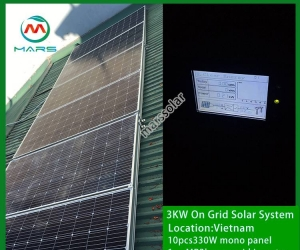 Solar System Manufacturer 3 Kilowatt Solar Panel For House South Africa