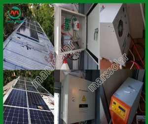 Solar System Manufacturer 5 Kilowatt Off Grid Industrial Solar Power Generator