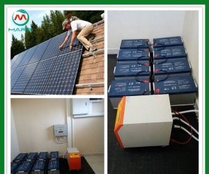 Solar System Manufacturer 5 Kilowatt Off Grid Photovoltaic Kit