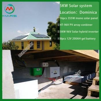 Solar System Manufacturer 10KW Solar Panel For Chicken House