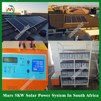 Solar System Manufacturer 5 Kilowatt Off Grid Industrial Solar Power Generator