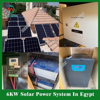 Solar System Manufacturer 3 Kilowatt Solar Panel For House South Africa