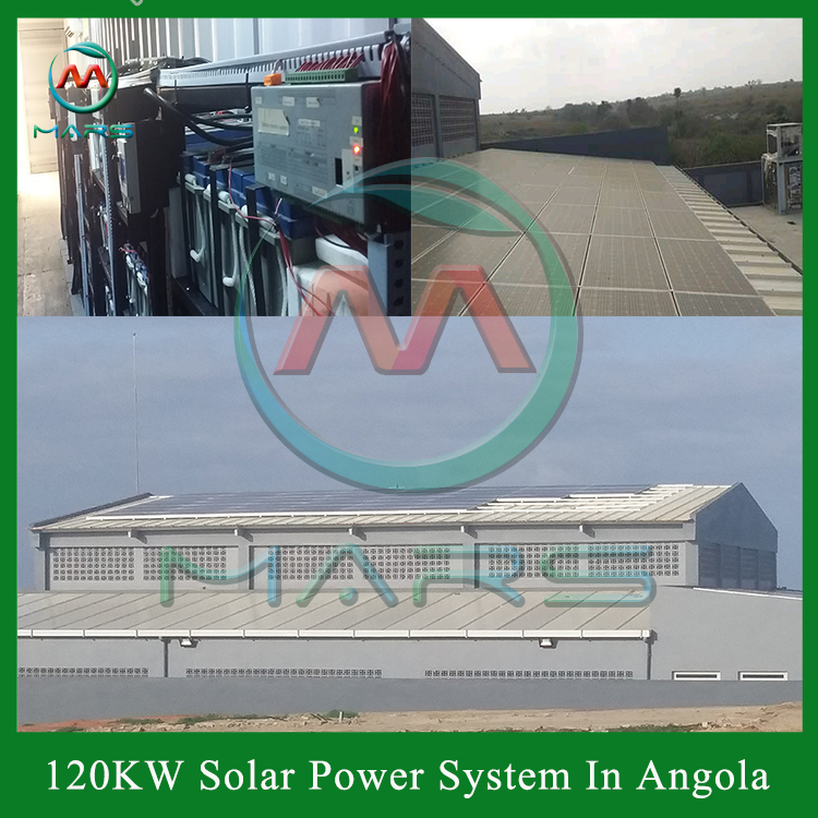 Solar System Manufactuer 150KW Solar System For Factory South Africa