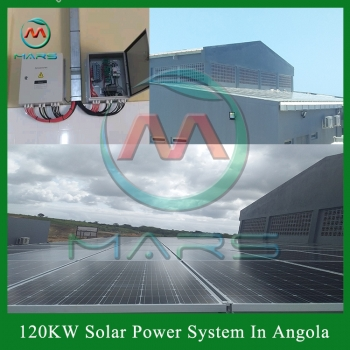 Solar System For Industrial Use