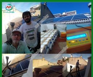 Solar System Manufacturer 5 Kilowatt Electricity Solar Panel