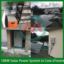 Solar System Manufacturer 10KW On Grid Off Grid Solar System