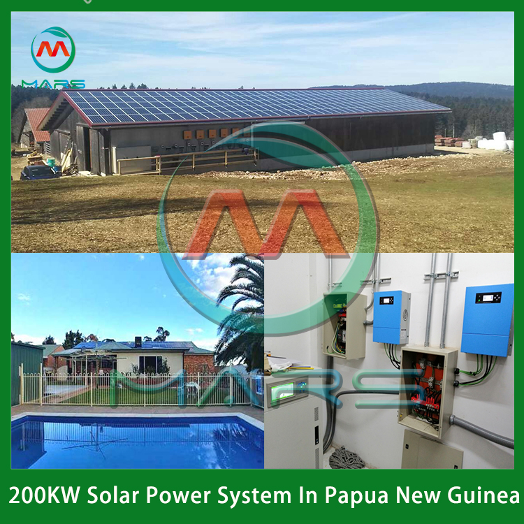Solar System Manufacturer 200 KW Solar Power Plant Cost Nigeria