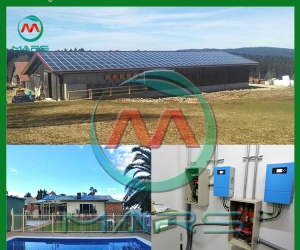 Solar System Manufacturer Good Quality 150KW Solar System For Factory