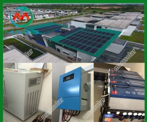 Solar System Manufacturer 10KW Individual Solar Electricity