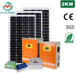 Solar System Manufacturer 2KW Solar System Off Grid South Africa