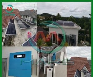 Solar System Manufacturer 10KW Hybrid Solar Power Solutions During Blackout