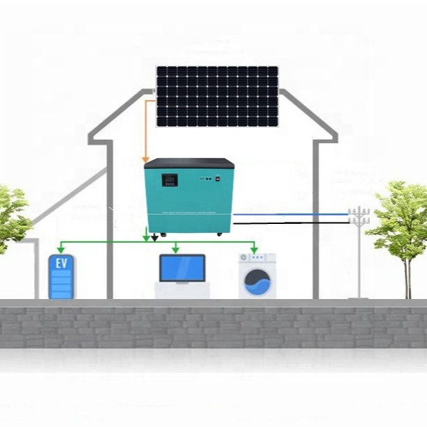 Solar System Manufacturer 3KW Home Solar System With Lithium Ion Battery