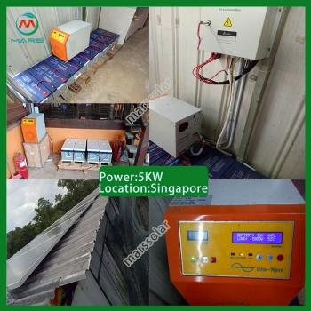 Solar System Manufacturer 5 Kilowatt Solar Plant And Generator