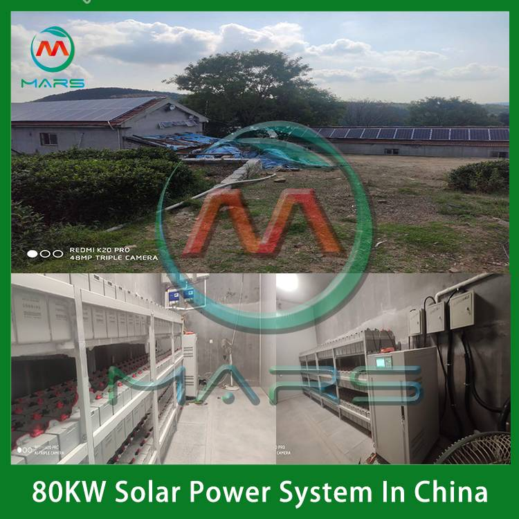 80KW Complete Off Grid Solar Systems