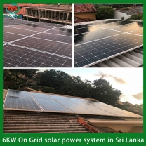 Solar System Manufacturer 5 Kilowatt Solar Batteries Panels