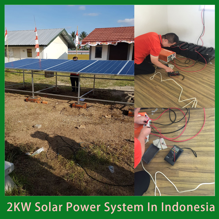 2KW Home Solar System Kit In Indonesia