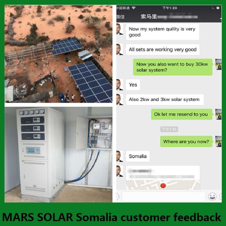 10KW Solar Power Kit In Somalia