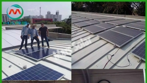 50KW Solar Power Generator System In Colombia