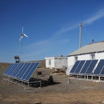 3KW Solar Wind Hybrid Power System