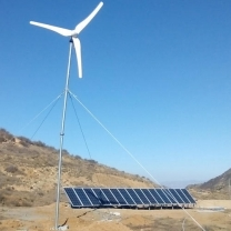 5KW Wind And Solar Power Systems